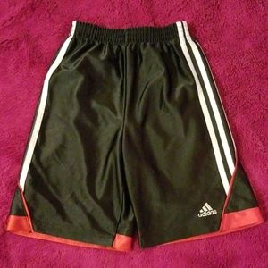 Boy's Adidas Athletic shorts Black size 7